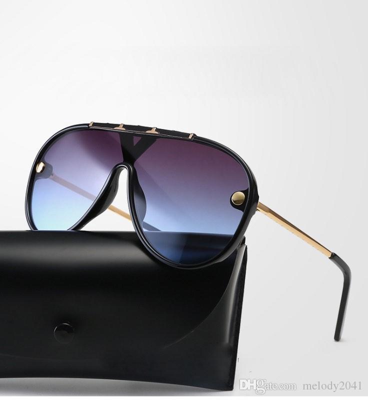 3557de01b4279a Großhandel 2019 New Vintage Coole Männer Sonnenbrillen Pilot Rahmen Brille  Unisex Designer Große Sonnenbrille 7 Farben Von Melody2041, $4.18 Auf  De.Dhgate.