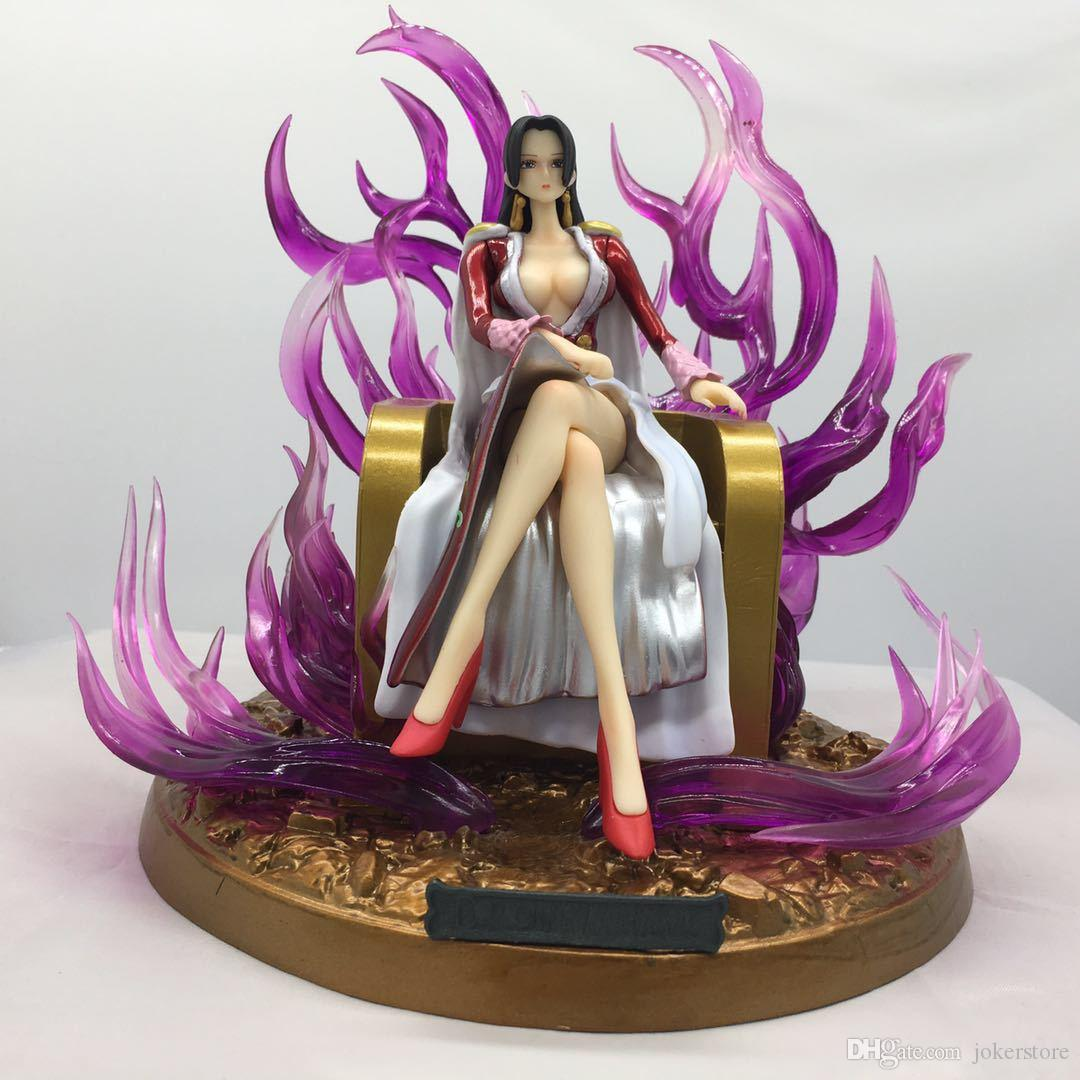 One Piece Boa Hancock Anime Figure Action Figures Christmas Gifts Toys Birthdays Gifts Doll New Arrvial Hot Sale PVC Free Shipping