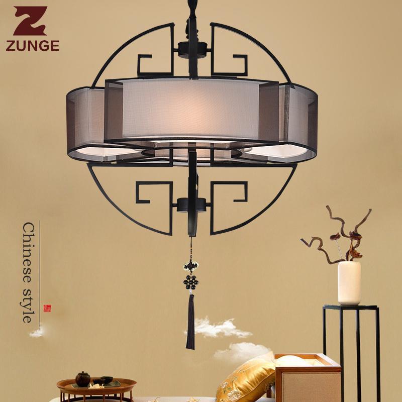 Acheter Nouveau Style Chinois Moderne LED Lustre Lights E187 Dans Le ...