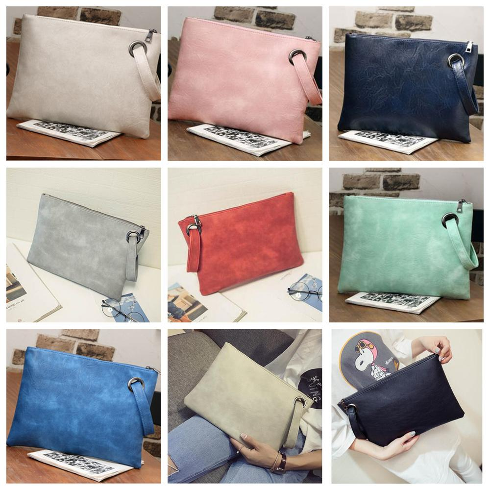 7c257c98ad 12styles Women Clutch Bag Envelope Bag Office Style PU Leather Evening  Party Wedding Day Clutches Tote Fashion Women Gift FFA1903 Baby Girl Handbag  ...