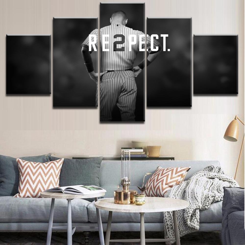 f11f5f75a 2019 Derek Jeter Baseball Sports,Canvas Prints Wall Art Oil Painting Home  Decor Unframed/Framed From Wumami, $17.94 | DHgate.Com