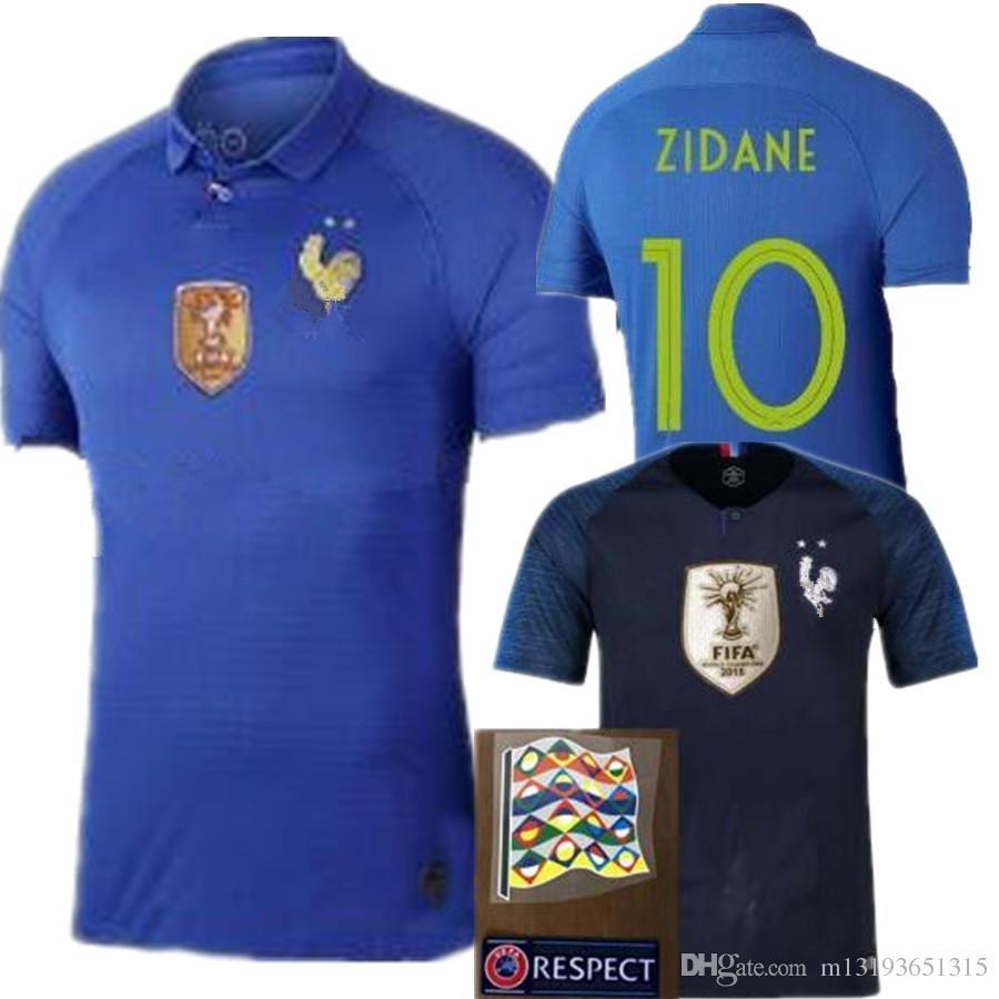 3b68816e4 NEW France Soccer Jersey France 100 Jersey Maillot France GRIEZMANN ...
