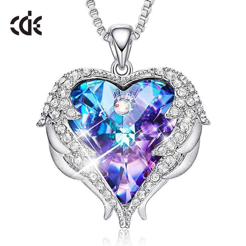 fb6d2943dfc1 Compre Cde Collar Colgante Embellecido Con Cristales De Swarovski ...