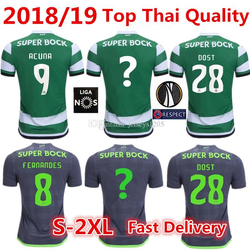 82bbe9676f1a1 Camiseta Sporting CP Soccer Jersey 18 19 NANI SCP Camiseta De Fútbol Local Camiseta  De Camisetas DOST Camiseta Sporting Lisbon Camisetas Camisa Camiseta ...