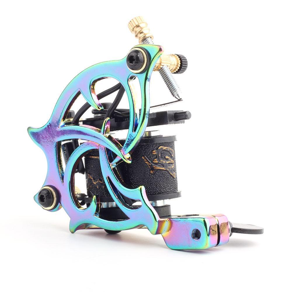 Bunte Zinklegierung Tattoo-Maschine der Qualitäts-Spule Tattoo Maschine für Liner Shader-Körper-Kunst-Gewehr-Verfassungs-Werkzeug