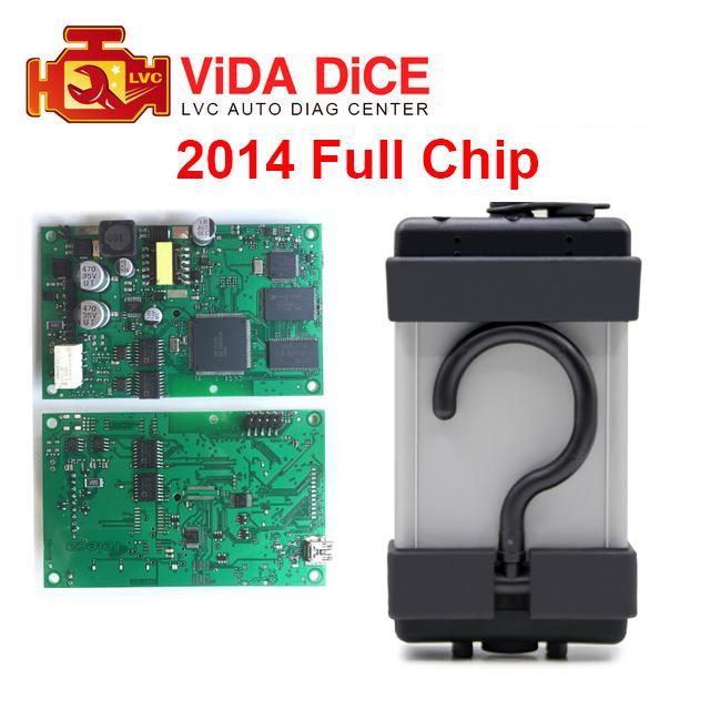 For Volvo Vida Dice 2014D Multi-Languages Professional Car Diagnostic Tool Pro Full Chip Green Board OBD 2 scan