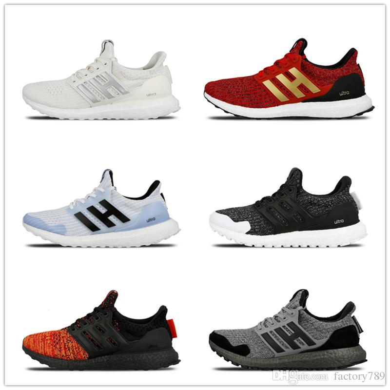 2019 Game of Thrones Ultra Boost Targaryen Dragons Lannister Stark White Walkers Men Women Ultraboost UB 4.0 PK Casual Shoes Sneakers