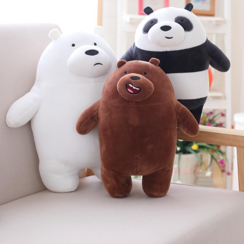 Acquista cm kawaii siamo orsi nudi peluche orso