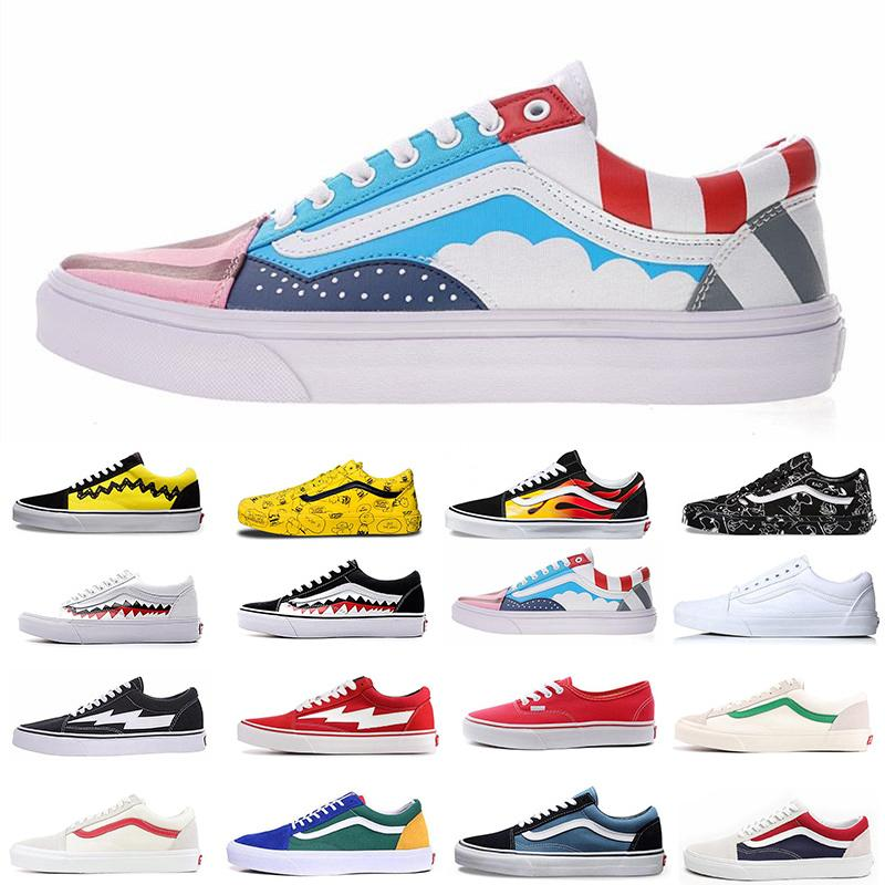 With Box Multi Color Canvas Shoes Athentic Classic Fashion Skate Casual Shoes For Men Women Designer Flats Luxury Trainers Sports Sneakers