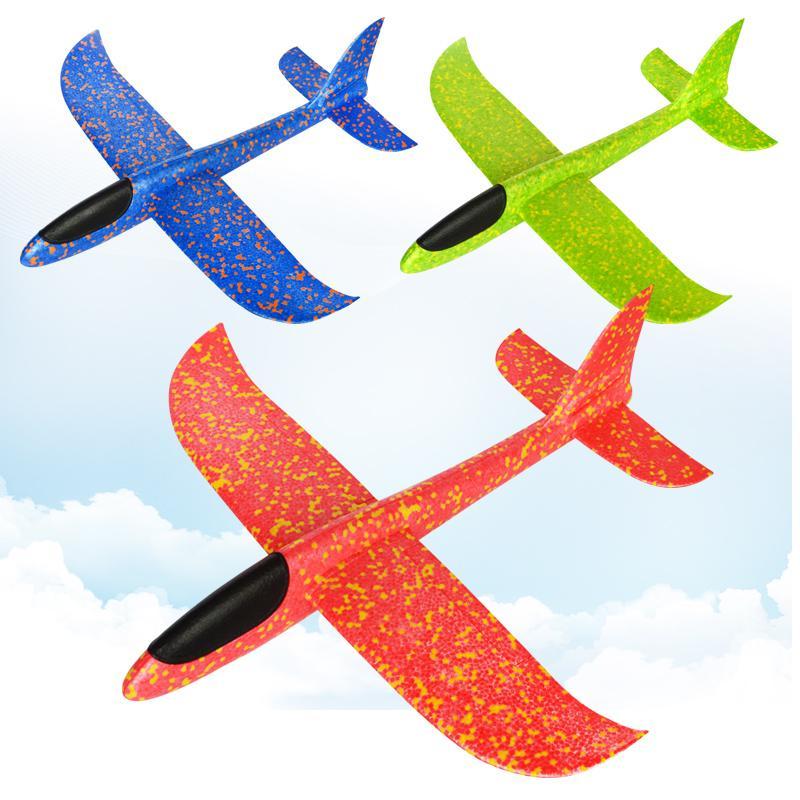 a09e1c0636 Compre 48 Cm Grande Buena Calidad Lanzamiento De La Mano Lanzamiento De  Planeador De Aviones De Espuma De Inercia EPP Avión De Juguete Niños Aviones  Modelos ...