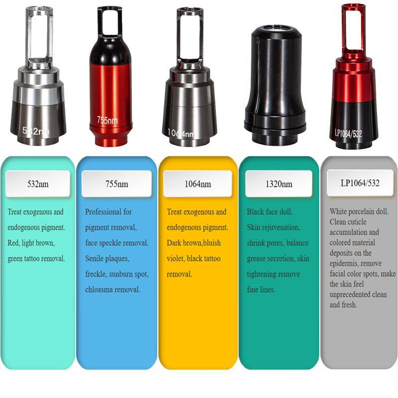 بيكو ليزر متعددة متسلسل النبض تقنية آلة إزالة الوشم بالليزر بيكو ثانية بدون تاريخ ياج إزالة الندبة بقعة