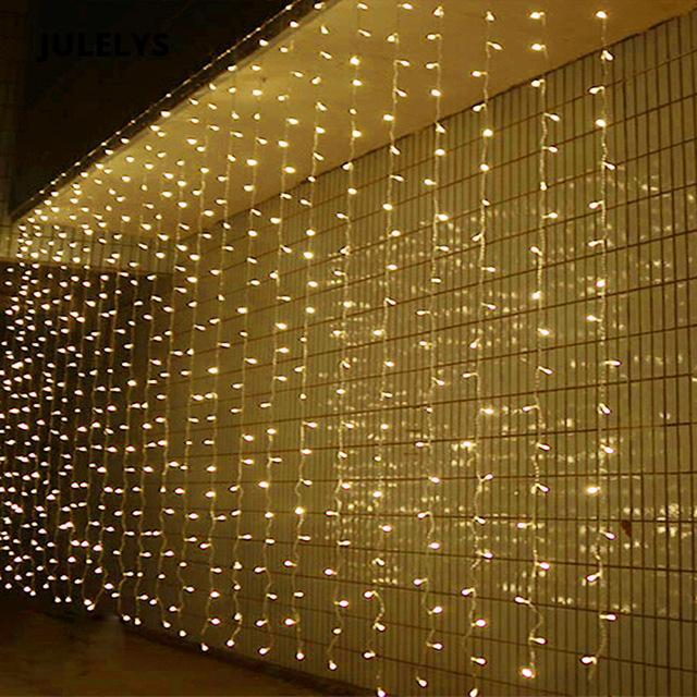 3MX4M/4MX4M/6MX4M/8MX4M/10MX4M LED Icicle String Lights Christmas xmas Fairy Lights Outdoor Home For Wedding/Party/Curtain/Garden Decoration