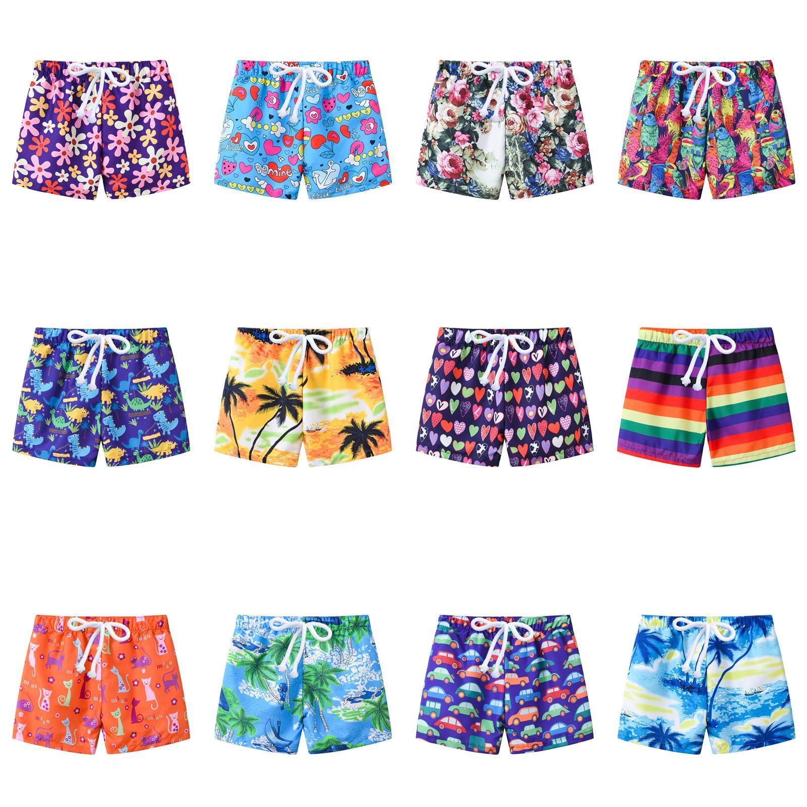 98f5817c525 13styles Children Summer Print Shorts Kids Baby Girl Cartoon Striped Car  Pattern Beach Pants Children Adjusting Belt Shorts WWA219 Shorts For  Teenage Guys ...