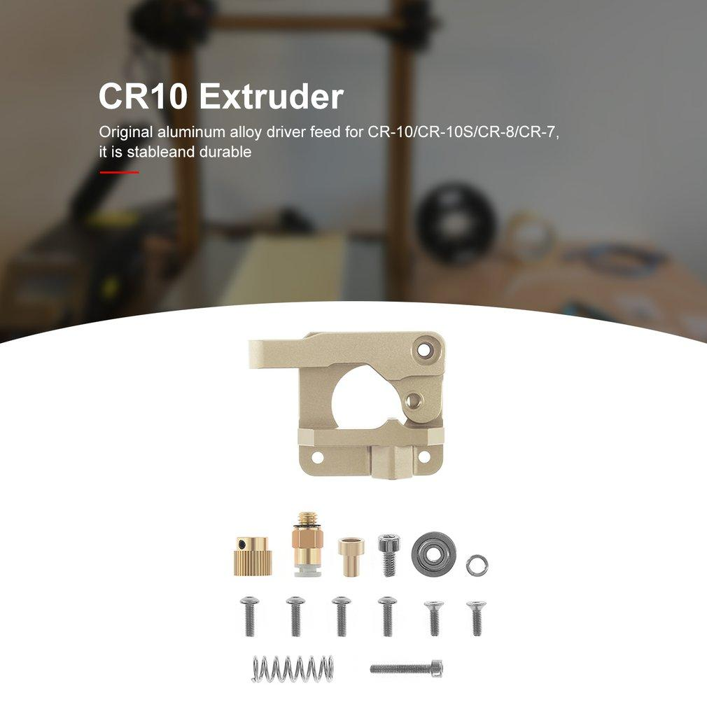 CR10 Extruder 3D-Drucker-Teile Upgraded Aluminium 8 Antrieb-Feed 3D-Drucker Extrudern CR7 CR10 CR-10S RepRap i3