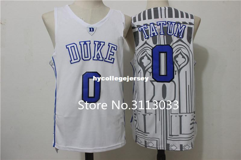 size 40 88e5f 43cf4 Jayson Tatum #0 Duke Blue Devils College Top Basketball Jersey Stitched  vest Jerseys Ncaa