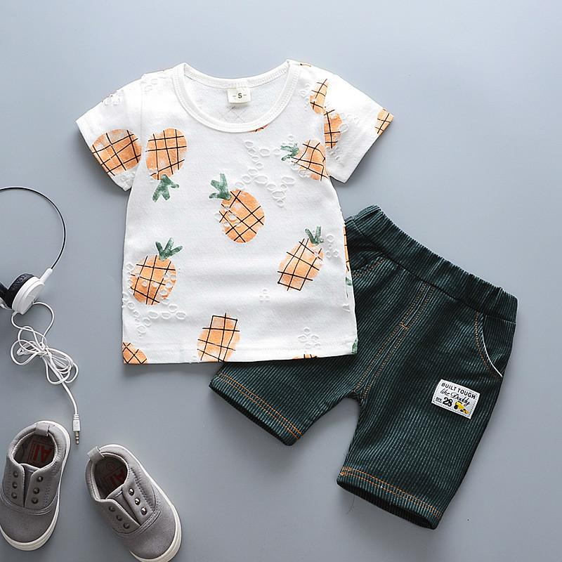 494a3a5b4 2019 Good Quality Hot Sale Boys Clothes Summer Children Boys Clothing Set  Cartoon Kids Boy T Shit +Pants Fashion Cotton From Westbit16, $26.03 |  DHgate.Com