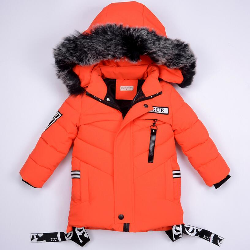 8291a2f7a27a 2018 New Baby Fur Hooded Jacket Infant Boys Winter Warm Jackets For ...