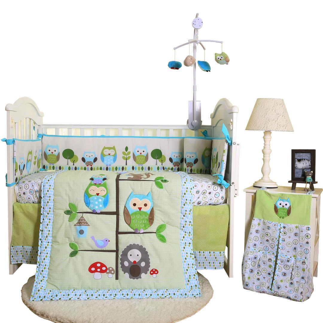 Cute New Manufactured Competitive Price Baby Bed Set Crib Bedding