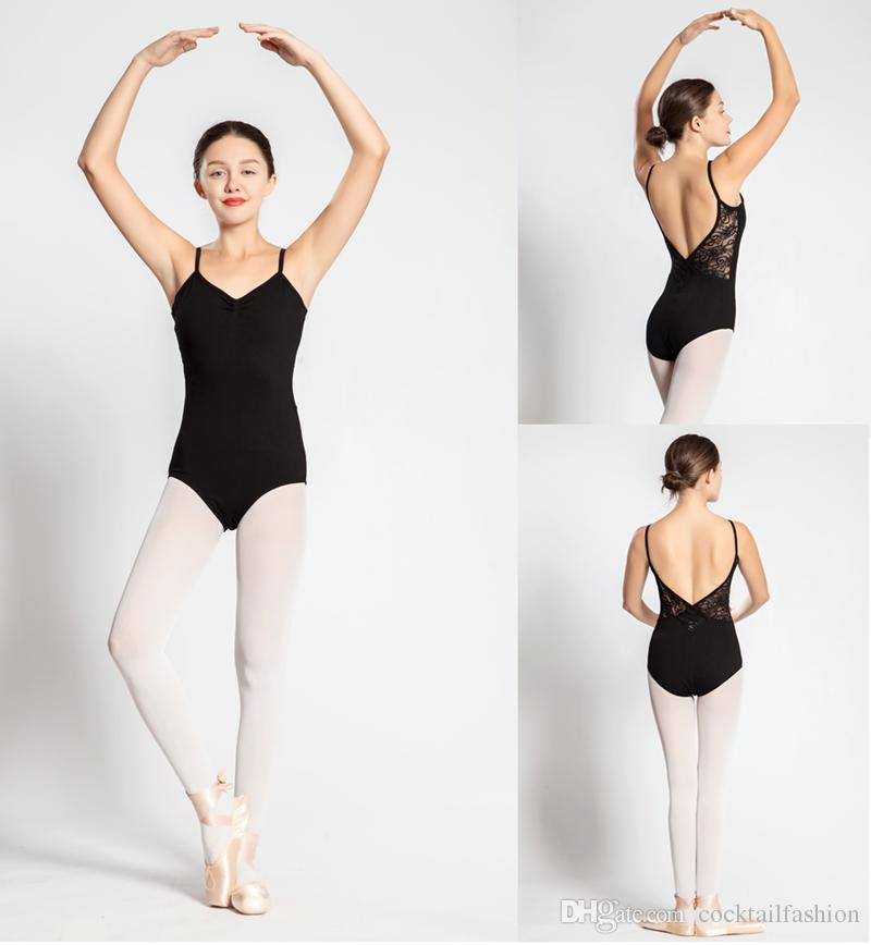 725222bf92f9 Ballet Leotard For Women High Quality Cotton Lace Ballet Dancing ...