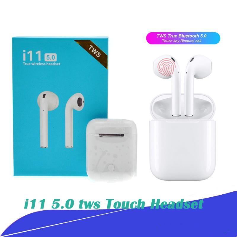 I11 Tws Wireless Earphone Bluetooth 5.0 Headset Touch
