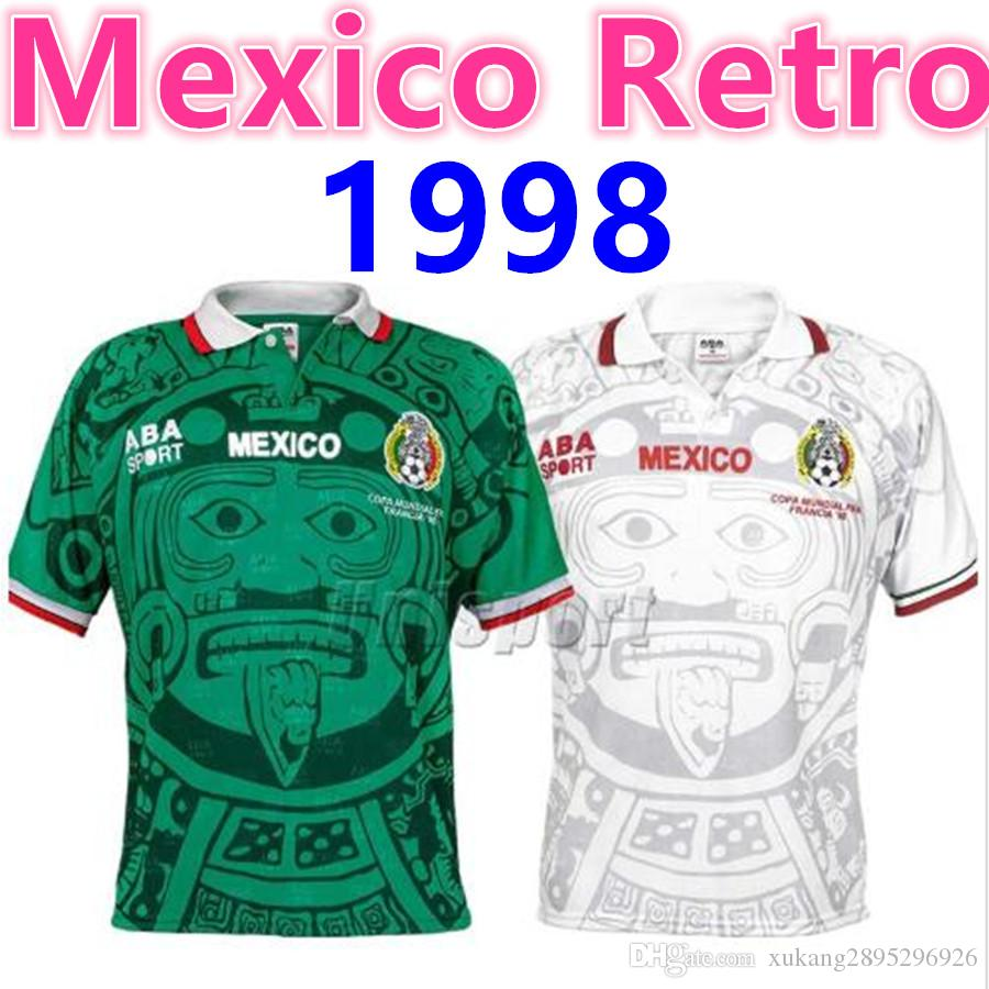 66608e41c 2019 S XXL World Cup 1998 Retro Mexico Soccer Jerseys Zidane Henry Vintage  Futbol Camisa Football Mexican Camisetas Shirt Kit Maillot From  Xukang2895296926