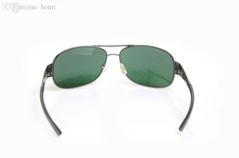 New Arrival Sun glasses Glass Lens Designer Sunglasses Mans Glasses New 3404 sunglasses womens glasses Green Lens eyeglass with cases boxs