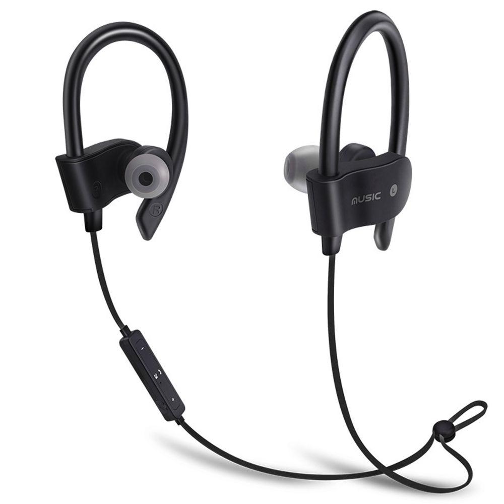 7fab48ea6d8 Kapel Bluetooth Earphone, Wireless Sports Headset W/Mic Waterproof HD  Stereo Sweatproof Earbuds For Gym Running Workout Noise Cancelling Bluetooth  Headphone ...