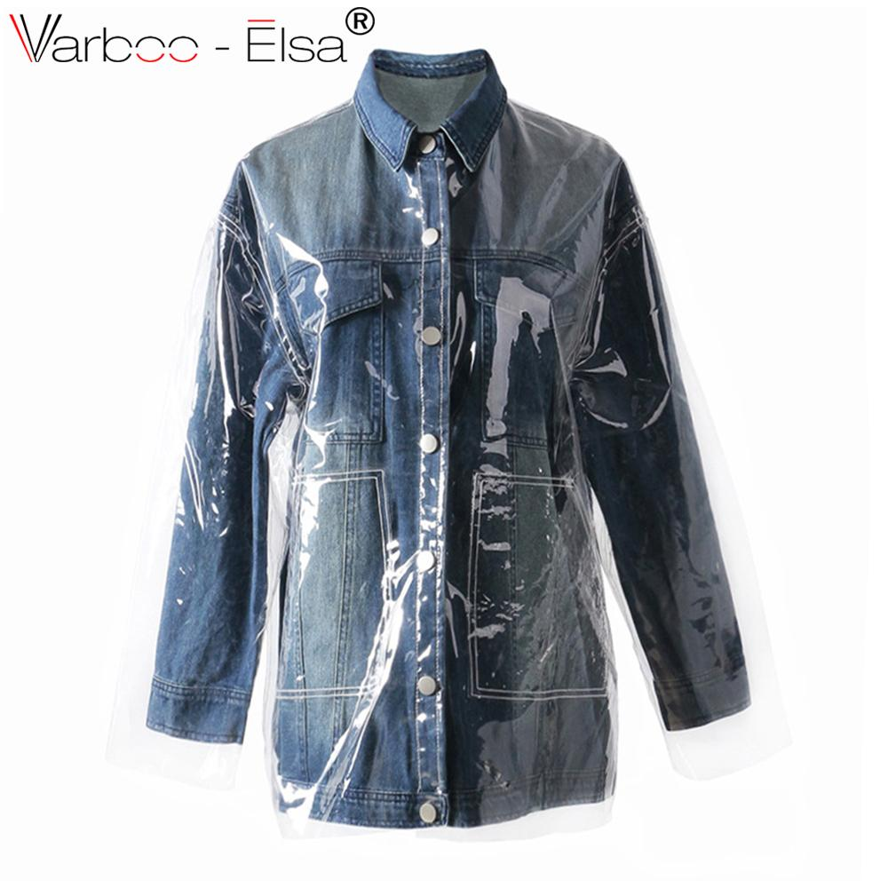 bd6495a9d94a Patchwork Plaid Denim Coat Jacket Female Long Sleeve Lattice Tassel ...