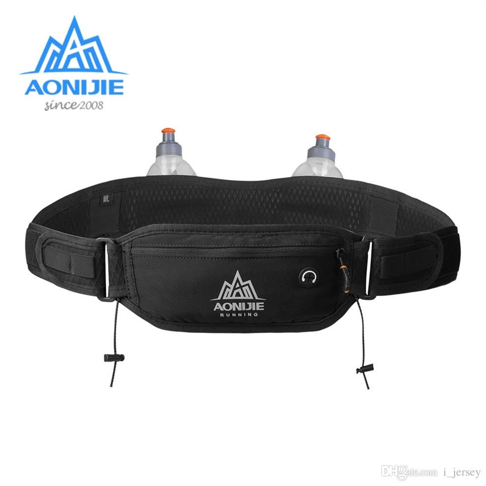 026eb3c6dd48 AONIJIE W937 Marathon Jogging Cycling Running Hydration Belt Waist Bag  Pouch Fanny Pack Phone Holder For 170ml Water Bottles #284487