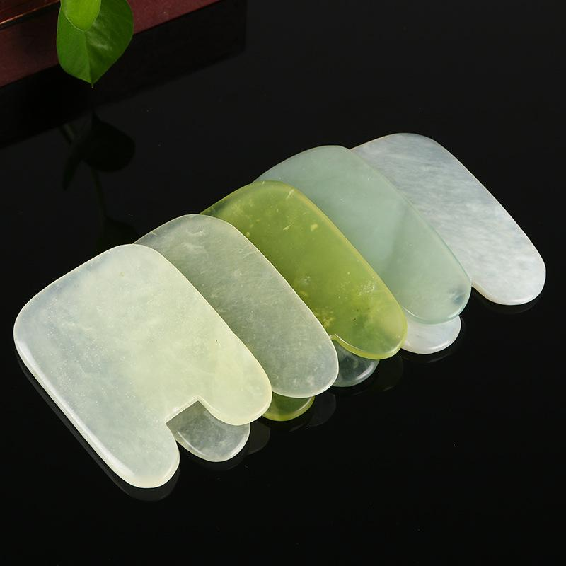 Scraper Natural Face Modern Simplicity Creative Idea Fashion Jade Board Square Manual Carving Plate Factory Direct Selling 3 5ym p1