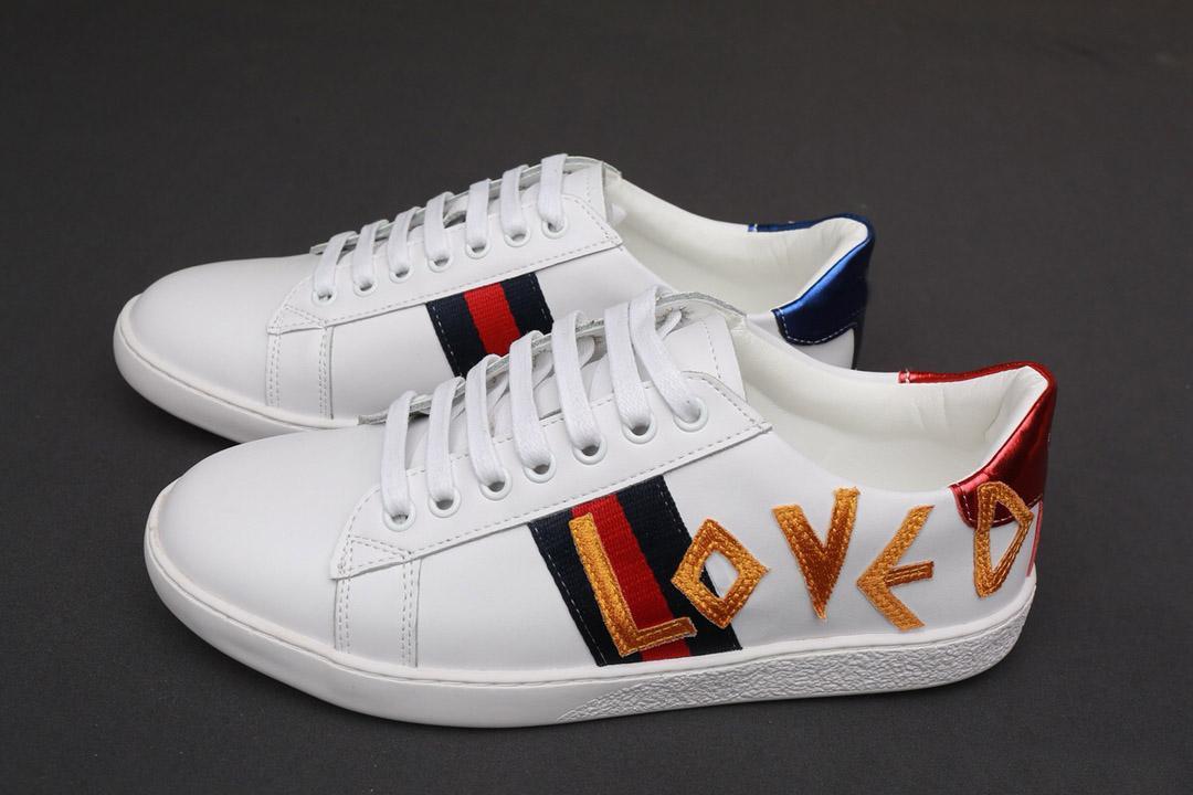 d87288ee98502 Compre Gucci Men Shoes Sneakers Mens Gucci Zapatillas De Tenis De La Marca  De Lujo Noble Europea Caliente Zapatillas De Moda Zapatillas Súper Cómodas  De ...