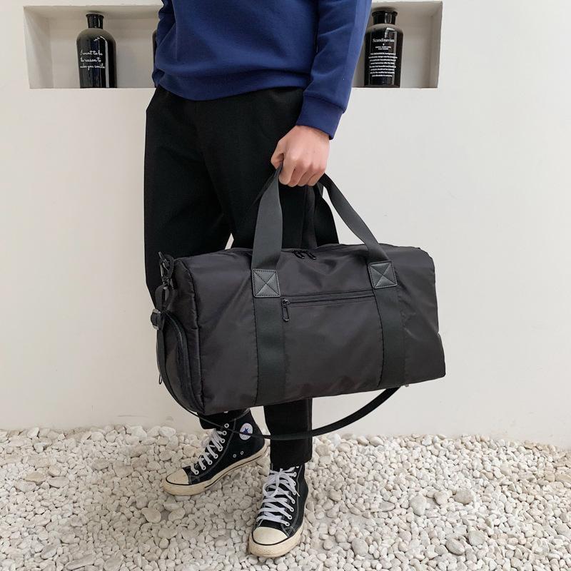 f9b2e15922a7 Travel Bag Female Portable Korean Version Of The Short Distance Large  Capacity Sports Bag Custom Logo Gym Bag Printing Stickers Custom Overnight  Bags For ...