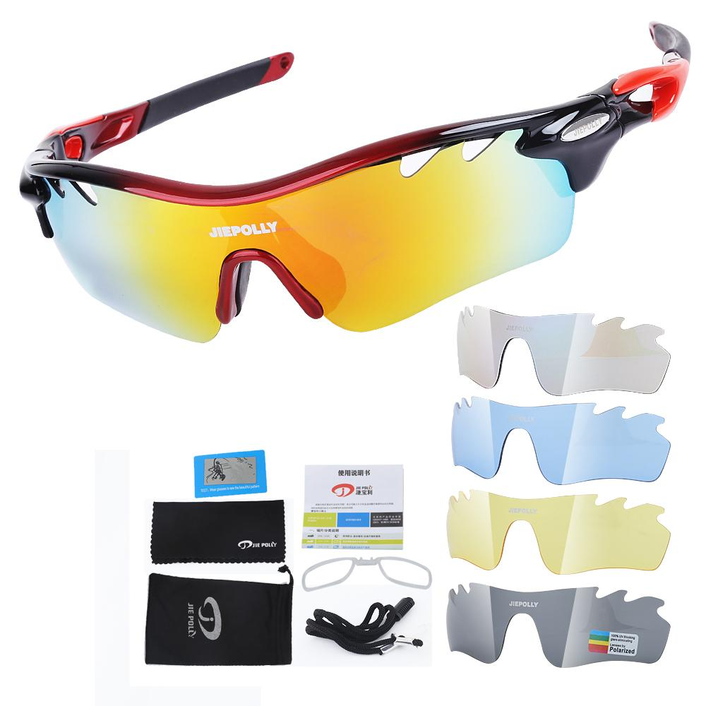 b2273c1a936 2019 5 Lens Bicycle Bike Sport Sun Glasses Polarized Gafas Ciclismo Cycling  Eyewear Goggles Cycling Sunglasses Glasses From Jaokui