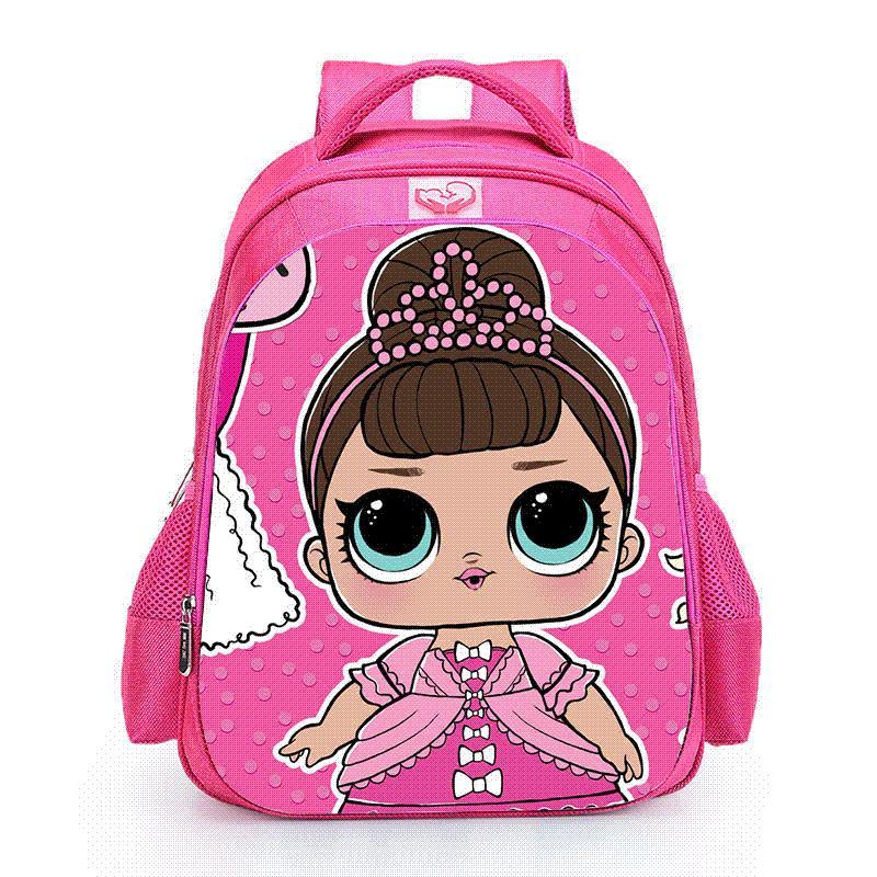 Muñecas Niños Bebé Para Estudiante Luobiwang Niñas Escolares Escolar Rosados Encantadores Lol Ortopédica Bolsos Del Mochila Niño Compre A q04Fwq