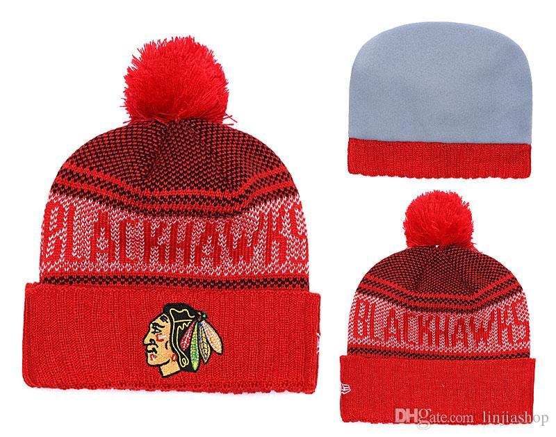299f73b76ba Winter Hat RED Sox Beanie Stripes Sideline Cold Weather Graphite Sport Knit  Hat Wool Bonnet Warm Official Reverse Cap Beanie Men Hats Zephyr Hats From  ...