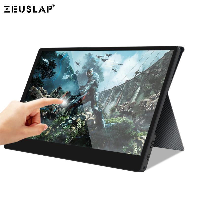13.315.6 inch Touch Screen Monitor Portable Ultrathin 1080P IPS HD USB Type C Dispaly