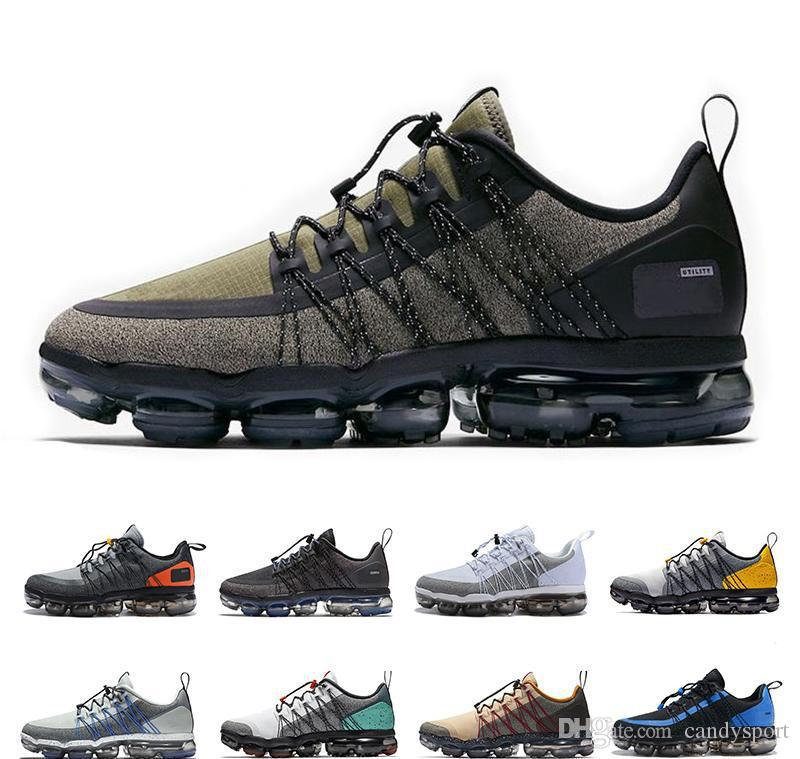 online retailer 66d95 195a8 Acquista Nike Air Vapormax Max Off White Flyknit Utility Casual Designer  Sneakers Outdoor Superstar Sport Escursioni Jogging Athletic Donne Sneakers  SZ36 45 ...