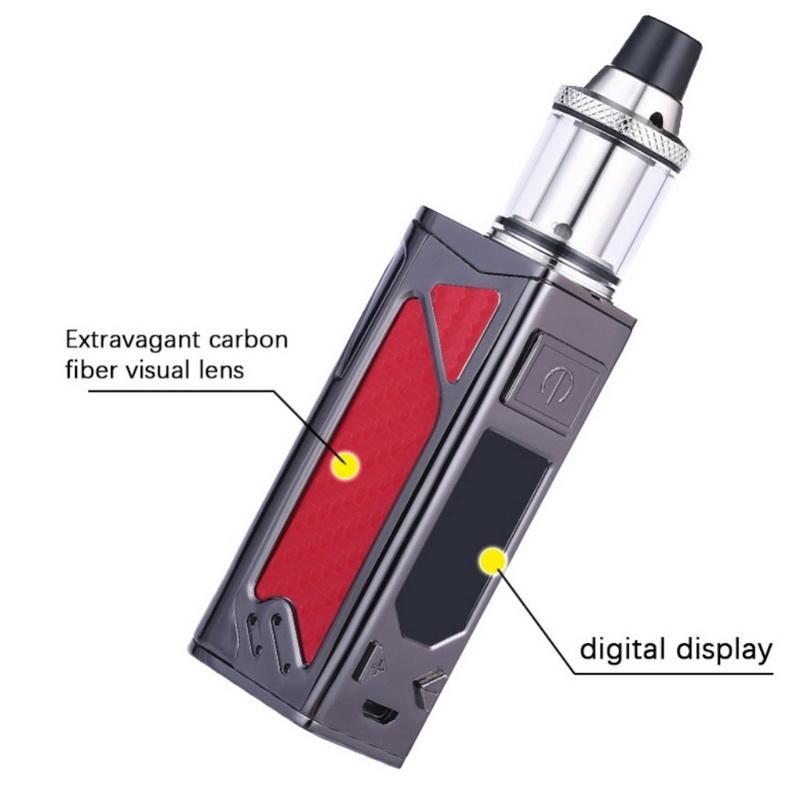 TAPHOO Mini Box Mod Kit Vaporizer Top Filling Metal Body Vape Atomizer 100W  Electronic Cigarette Kit
