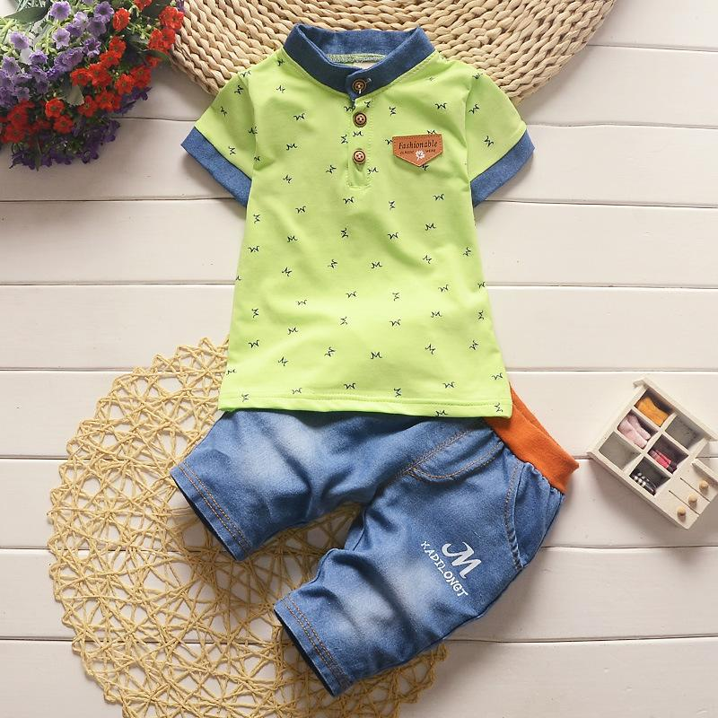53526460d75d9 quality Summer baby Boys Clothing Sets Kids Clothing Sets toddle  tops+shorts sport suit baby Boys Clothes children boy clothes