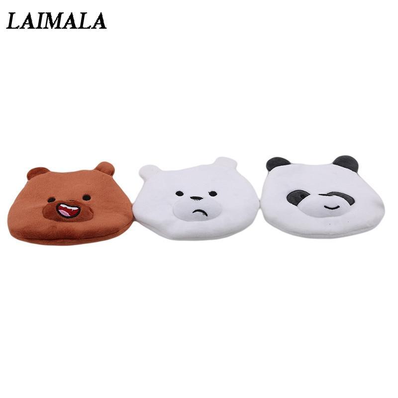 Compre Oso De Dibujos Animados Bolsas De Peluche Panda Kawaii