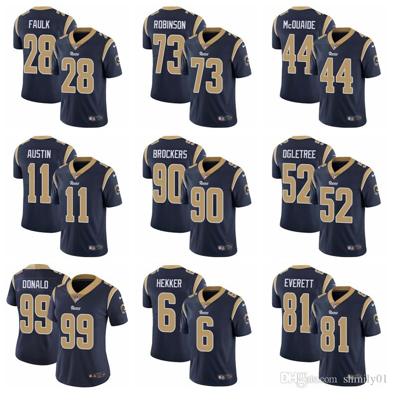 6dbd4db13ab Los Angeles Mens Rams 99 Aaron Donald 16 Jared Goff 30 Todd Gurley II Jersey  Color Rush Limited Stitched Logos Football Jersey Black Mens Clothes Black  Suit ...