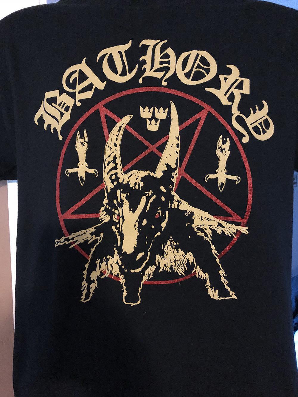 57e6a138f3f8 Bathory T Shirt Black Metal Venom Custom T Shirt Logo Text Photo Mens Womens  T Shirt Men Tshirt Rock Unisex T Shirt Fashion Cool Design And Buy T Shirts  Tee ...
