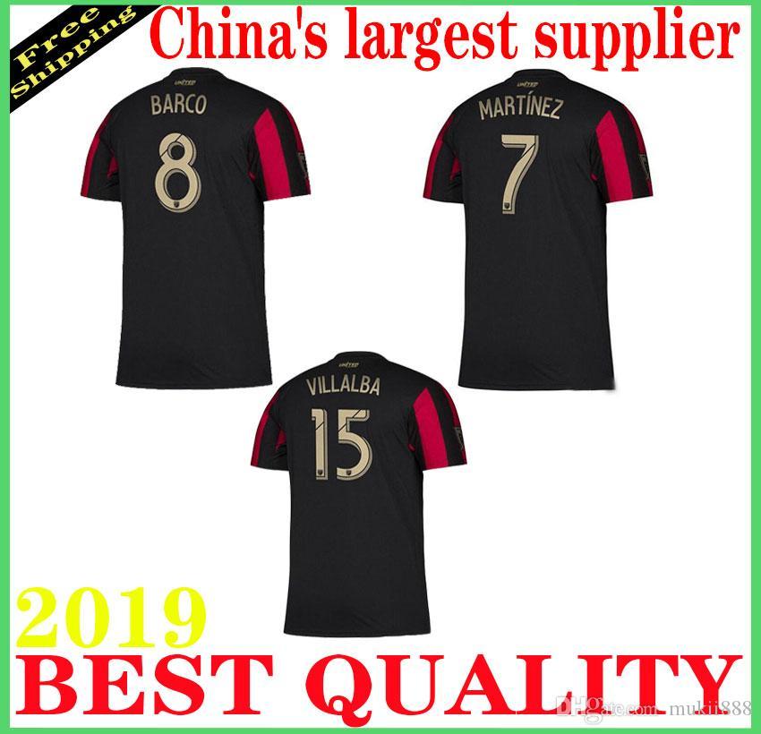 2966ec8d453 19 20 Atlanta United FC MLS Men S Soccer Jerseys 2019 20 VILLALBA G.MARTINEZ  Football Shirts 19 20 MLS Soccer Jerseys Camiseta Shirts UK 2019 From  Mukii888
