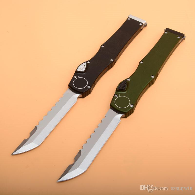 Hal 6 CNC Hanlde D/A EDC Automatic Hellhound DIRAC tactical Pocket outdoor camping equipment UTX 70 80 knife knives