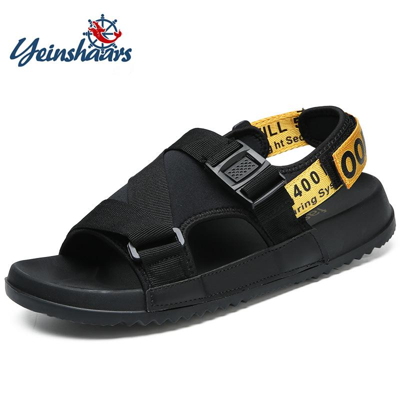 daffa29e7f35 YEINSHAARS Men Sandals Summer High Quality Brand Shoes Beach Men Sandals  Causal Shoes Fashion Outdoor Waterproof Ladies Sandals Girls Sandals From  Giaogiaoo ...