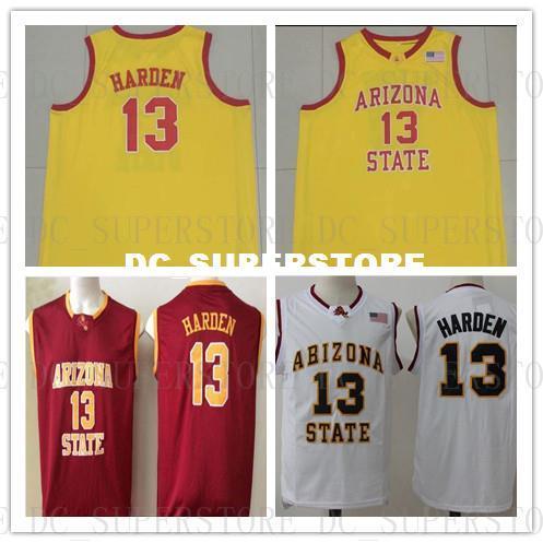buy online 37df9 679f0 Großhandel Billig Benutzerdefinierte   13 Harden Arizona State Basketball  College Jersey Stitch Anpassen Jede Nummer Name HERREN JUGENDLICHE XS 5XL  Von ...