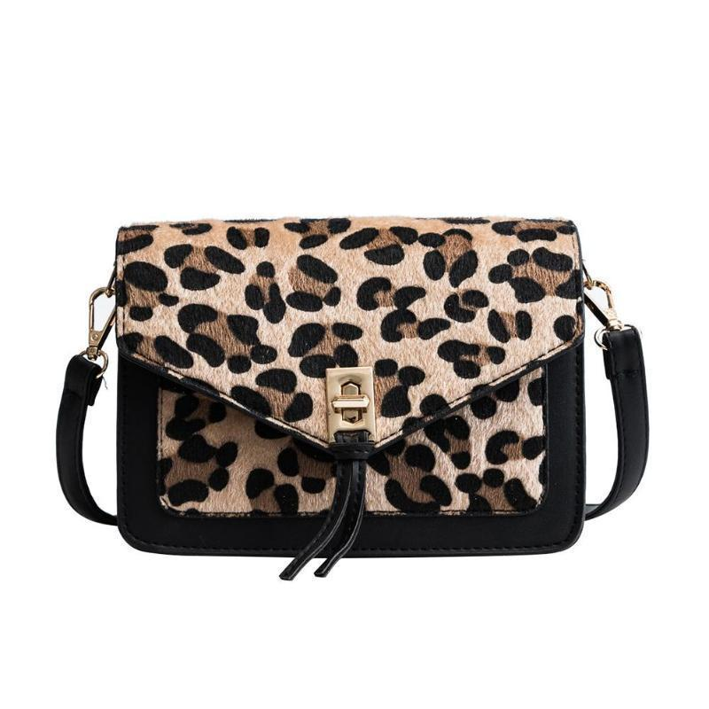 2019 Fashion Women Leopard Fur Shoulder Bags Metal Hasp Leopard Handbags  Tassel Cross Body Bags Print Crossbody Bags Z70 D19011204 Leather Goods  Purses For ... 58776767d65dc