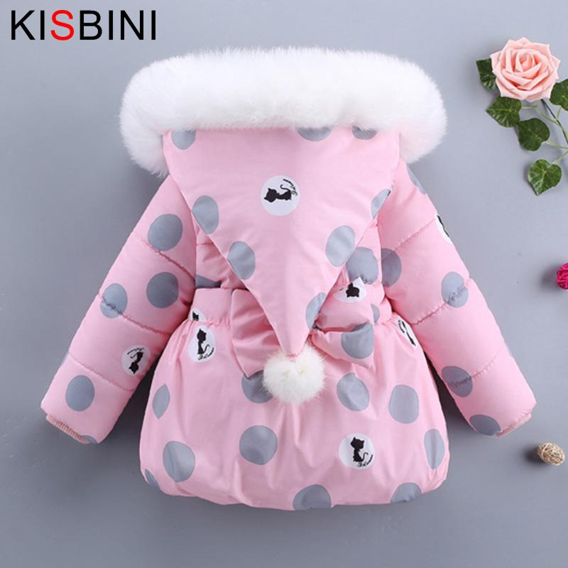 09bab31e7 Good Quality Winter 2019 Warm Down Coat Hooded Jackets Newborns Girl ...