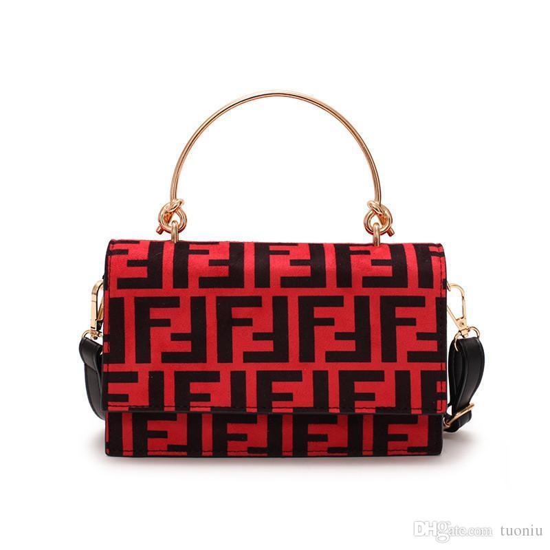138f89a0c0 Acquista Donna F Lettere Borsa PU Moda Protable Borsa A Tracolla Trendy  Borsa A Tracolla Lady Zipper Tote Borsa Portafoglio Borse Da Viaggio A  $10.36 Dal ...