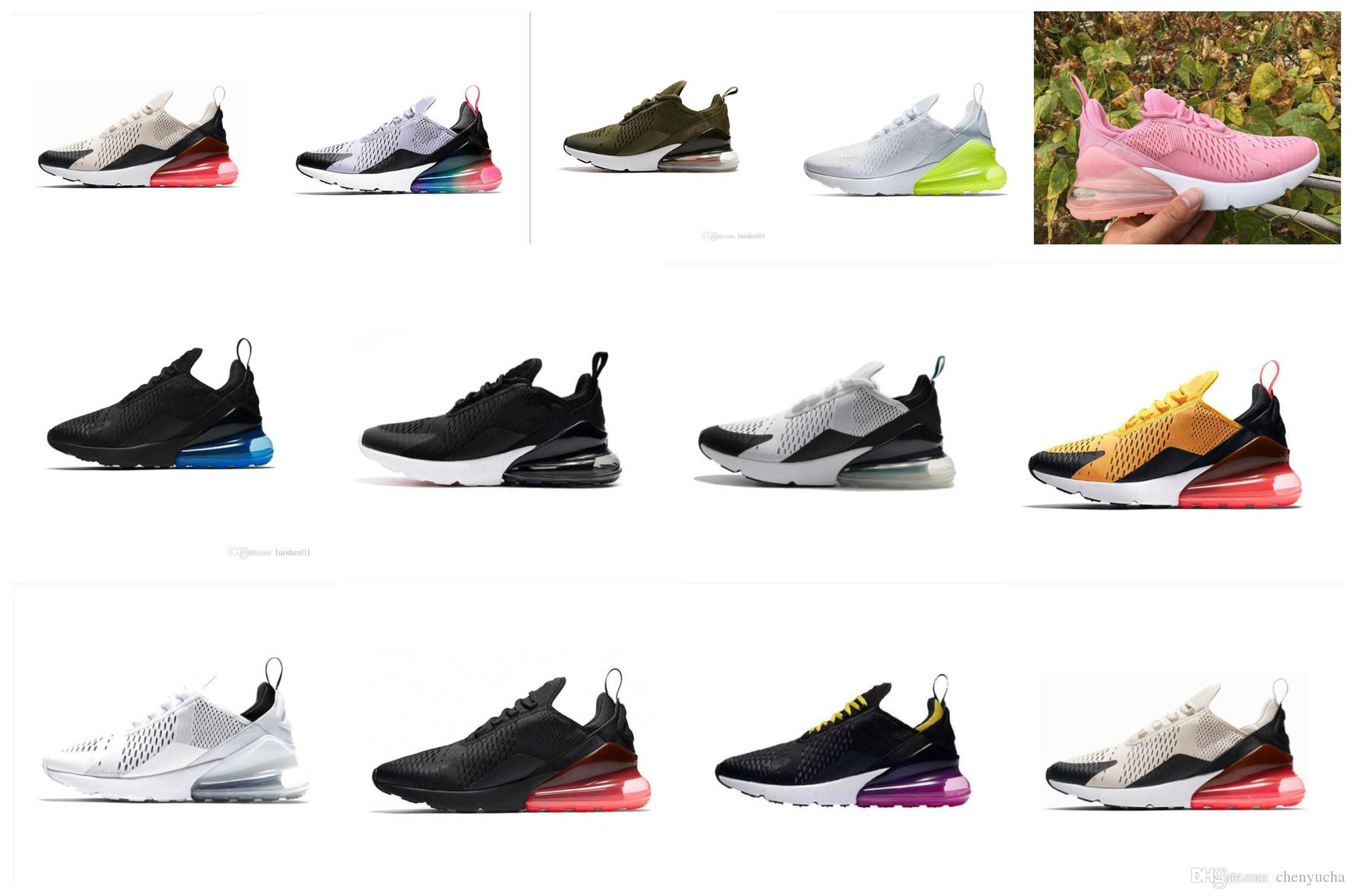 on sale 5299f 9daf4 Compre MAX Ventas 2019 Air Vapor 270 Hombres Mujeres Zapatos Para Correr Max  Flair Triple Negro 27C OG PRESTO AH8050 Racer Basketball TN Plus Chaussure  EE.